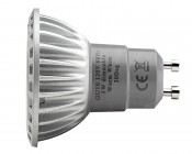 Dimmable GU10 Base LED Bulb- Profile View