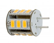 GY6.35 LED Bulb - 35 Watt Equivalent - Bi-Pin LED Bulb - 350 Lumens: Back View