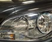 LED Headlight Kit - H11 LED Headlight Conversion Kit with Aluminum Finned Heat Sinks