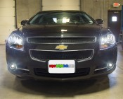 LED Headlight Kit - H4 LED Headlight Conversion Kit with Aluminum Finned Heat Sinks