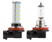 H8 LED Bulb - 28 SMD LED Daytime Running Light - LED Tower: Profile Comparison View