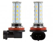 H8 LED Bulb - 28 SMD LED Daytime Running Light - LED Tower: Profile View