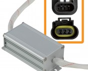 Motorcycle Headlight Load Resistor - H13 LED Headlight Bulbs