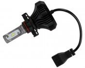 Motorcycle LED Headlight Conversion Kit - H16 LED Fanless Headlight Conversion Kit with Compact Heat Sink