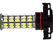 H16 LED Bulb - 68 LED Daytime Running Light : Profile View
