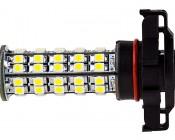 H16 LED Bulb - 68 LED Daytime Running Light: Profile View