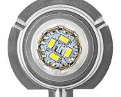H7 LED Bulb - 36 High Power LED Daytime Running Light: Front view