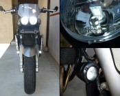 194 LED Bulb - 13 SMD LED Wedge Base Tower: Customer Installed in Motorcycle, Thanks Jade
