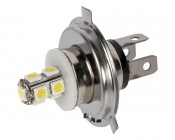 H4 LED RV Light Bulb - LED Fog Light/Daytime Running Light Bulb - 9 SMD LED Tower