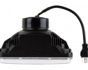 Rectangular H4656 LED Projector Headlights - LED Headlights Conversion: Profile View