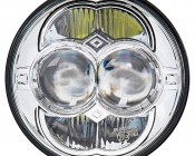 "5"" Round H5006 LED Sealed-Beam Headlights Conversion: Front View"