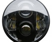 "7"" Round H6024 LED Projector Headlights - LED Headlights Conversion - Sealed Beam: Front View"