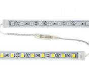 1/2 meter 30-LED Light Tube with 3-Chip LEDs: Link Tubes Together By Connecting Ends
