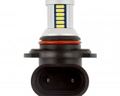 Can Bus HB3 LED Bulb - 30 SMD LED Daytime Running Light - LED Tower: Profile View Showing Plug
