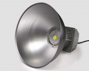 The 60 watt low bay light is smaller in size and has just 1 Chip-On-Board LED