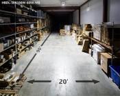 "180W Double Linear LED Light Fixture - Industrial LED Light w/ Mounting Brackets - 2'4"" Long - 19,500 Lumens: Beam Length & Width"