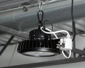 Microwave Motion Sensor for HBUD UFO LED High-Bay Lights - Installed On HBUD-50K100W