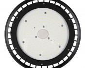 100 Watt UFO LED High Bay Light w/ Optional Reflector - 5000K - 13,000 Lumens: Front View