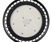 200 Watt UFO LED High Bay Light w/ Optional Reflector - 5000K - 26,000 Lumens: Front View