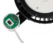 Microwave Motion Sensor for HBUD UFO LED High-Bay Lights - Sensor Housing Open