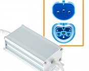 Motorcycle Headlight Load Resistor - 9004 LED Headlight Bulbs: Detail View.