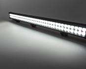 "36"" Heavy Duty Off Road LED Light Bar - 234W: On Showing Beam Pattern."