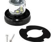Hide A Way LED Strobe Light: Shown With All Included Mounting Accessories
