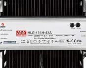 High Bay LED Warehouse Lighting Luminaire 150 Watt: Close Up View Of Power Supply