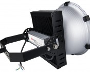 High Bay LED Warehouse Lighting Luminaire 200 Watt: Back View