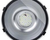 High Bay LED Warehouse Lighting Luminaire 200 Watt: Front View