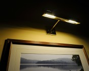 High Power 24 LED Rotatable E27 LED Bulb: Shown Installed And Illuminating Photo.