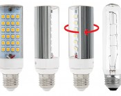 High Power 24 LED Rotatable E27 LED Bulb: Light Rotates 250°