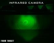 High Powered IR LED Spot Light - 54W, 850nm 30 feet from target