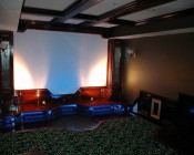 5 Watt MR16 LED Spotlight in Home Theatre Set-Up
