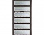LED Area Light - 300W (850W HID Equivalent) - 5300K - 34,170 Lumens: Front View