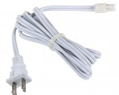 Power Cord for Dimmable Under Cabinet LED Lighting Fixtures