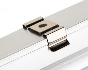 Linkable Linear LED Light Fixtures - T5 Low Voltage LED Lights: Mounting Brackets Snap On Back