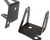 Jeep JK Windshield Auxiliary Light Mounting Brackets