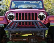 "7"" Round DOT Approved LED Headlights Conversion: Installed in Jeep Wrangler"
