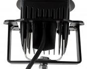 """Jeep Wrangler JK Unlimited (07-2015) LED Fog Light Mounts - 3"""" Square LED Fog Lights: Profile View"""