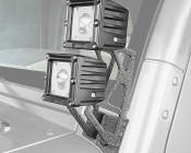 Jeep Wrangler JK Dual A-Pillar Mount Kit