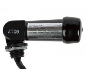 Photocell Dusk-to-Dawn Sensor: Profile View With Label