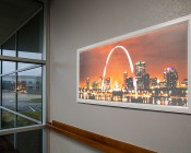Custom Printed Even-Glow® LED Panel Light - Dimmable - 2' x 4'