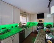 Pantry and Under Cabinet LED Lighting Kit - Weatherproof Multi-Strip Remote Activated RGB Color Changing