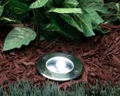 Linkable LED In-Ground Well Light - 3 Watt: Installed.