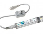 LED Linear Light Bar Fixture: Shown with Motion Sensor Accessory