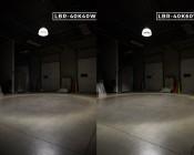 LED Retrofit Lamp - 175W Equivalent HID Conversion- E39/E40 Mogul Base - 7,500 Lumens - 4000K - Ballast Bypass: Comparison Between 40W and 60W Versions