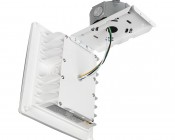 LED Canopy Lights - 55W - 4000K - Surface Mount - 6,700 Lumens: Hanging Open From Junction Box