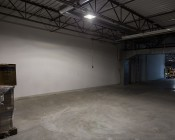 LED Canopy Lights - 55W - 4000K - Surface Mount - 6,700 Lumens - Installed in Warehouse