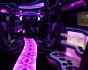 Limo interior lighting